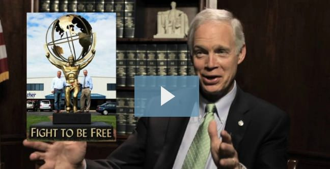 Video Interview with Ron Johnson (R-WI)